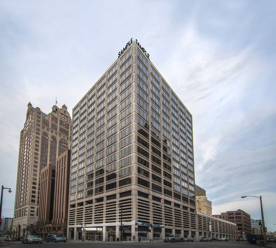 Downtown's Two-Fifty building will be the new home for HNTB Corp., which is moving there from Park Place business park.