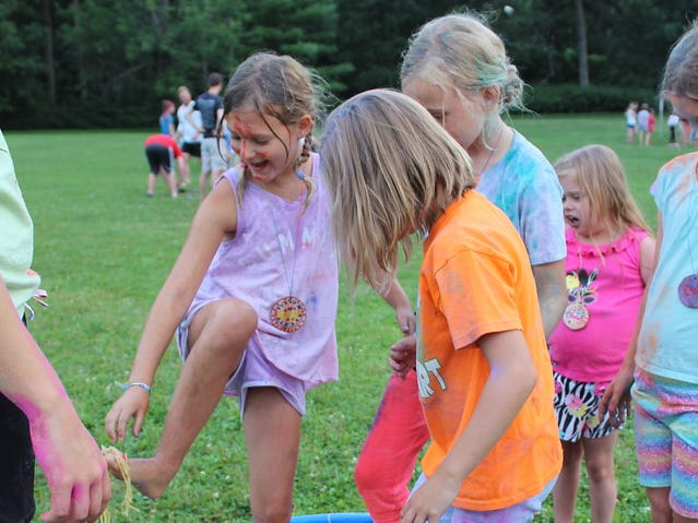 Kids with heart disease can just do fun activities at their week at Camp Odayin.