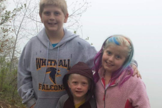 This undated photo, several years old, shows the three Duffy family children: (from left) Kevin Jr., Konner and Kylie. Kevin and Kylie, along with their father Kevin Duffy Sr., were killed in a Feb. 19 fire at their Arcadian Avenue home in the town of Waukesha.