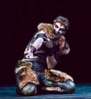 """Guest artist Raul Peinado is the Beast in Alabama Dance Theatre's production of """"Beauty & the Beast."""""""