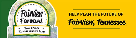 The Fairview Forward 2040 Comprehensive Plan draft was presented on March 4, 2019.