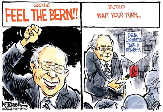Feel the Bern 2016 vs. 2020