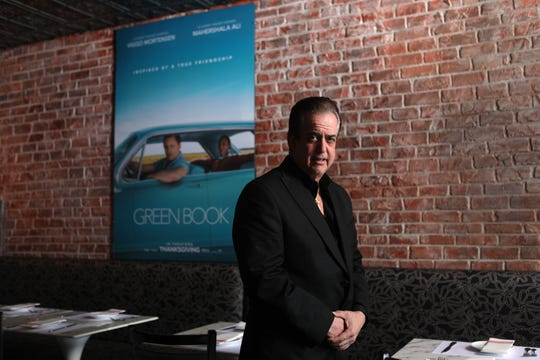 Frank Vallelonga, is the owner of Tony Lip's, in Franklin Lakes.  Vallelonga named the restaurant after his father, Tony Vallelonga.  The movie, 'Green Book' was written by Frank Vallelonga's brother, Nick about their father and a jazz musician by the name of, Don Shirley.  Thursday, February 21, 2019.