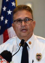 Eric Enriquez, Las Cruces fire chief.