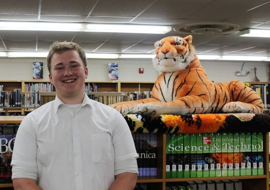 Alamogordo High School Senior David Fillmore was chosen to go to Washington, D.C> to participate in the 2019 United States Senate Youth Program