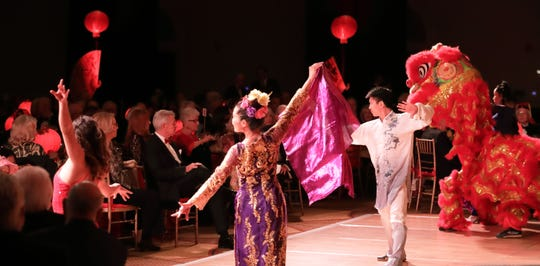 China Gold and its troupe perform at the Waring International Piano Competition's 35th Anniversary Gala.