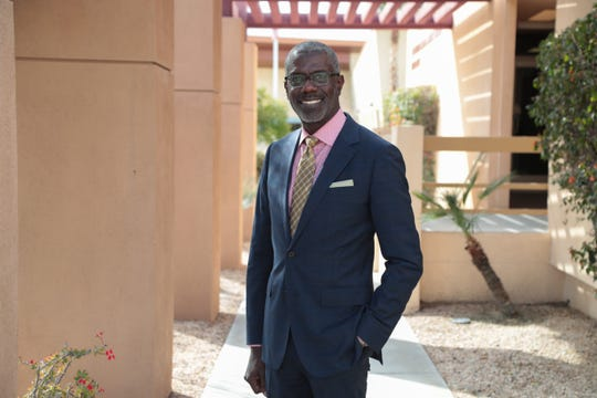 Carl Baker is running for  Palm Springs City Council in District 2, Palm Springs, Calif., Thursday, February 21, 2019.
