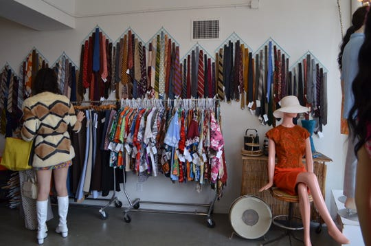 Iconic Atomic offers vintage shopping in Palm Springs.