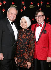 (left to right) Dr. Bill Fisher, Renee Glickman, and Mayor of Palm Springs Robert Moon.