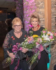 Event co-chairs Dona Nixon and Julie Zicovich