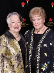 (left to right) Gala Chair JoAnn Wellner, and Lois Darr, Board Member of The Waring.