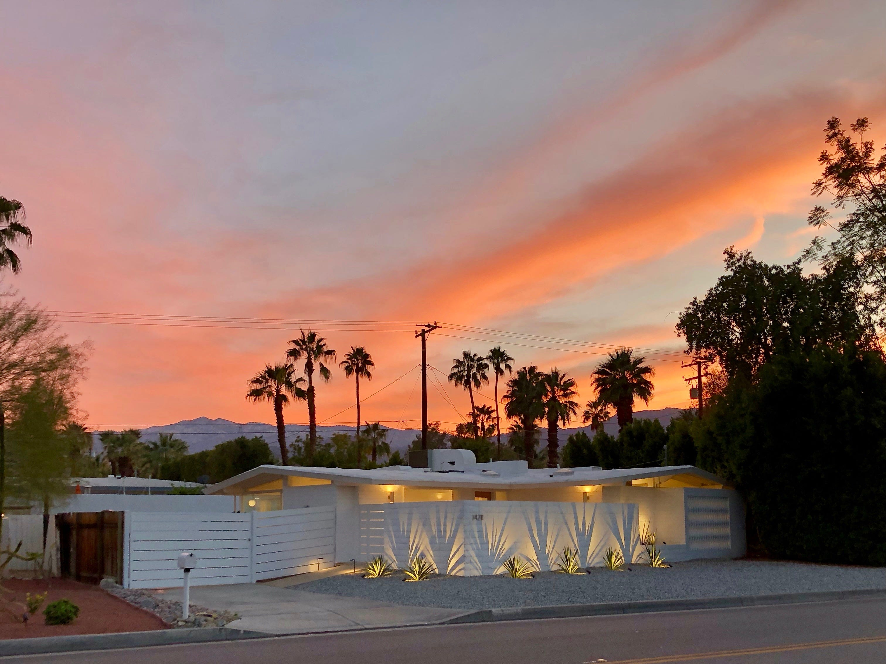 Rick Marino's recently renovated Walter S. White home in Palm Desert