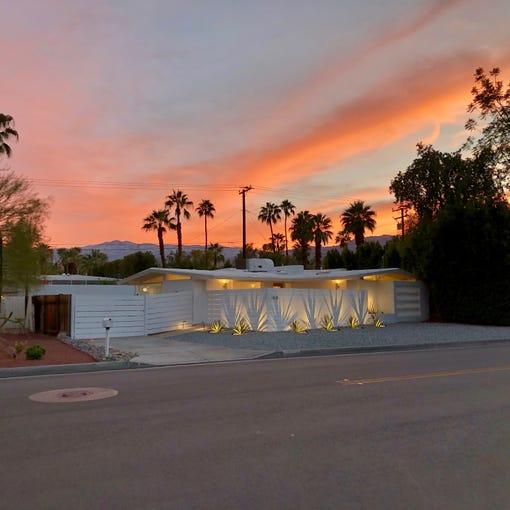 Rick Marino's recently renovated Walter S. White home in Palm Desert
