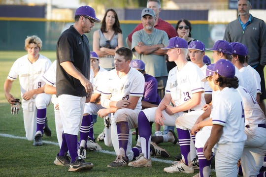 Queen Creek High will be without its baseball coach all season.
