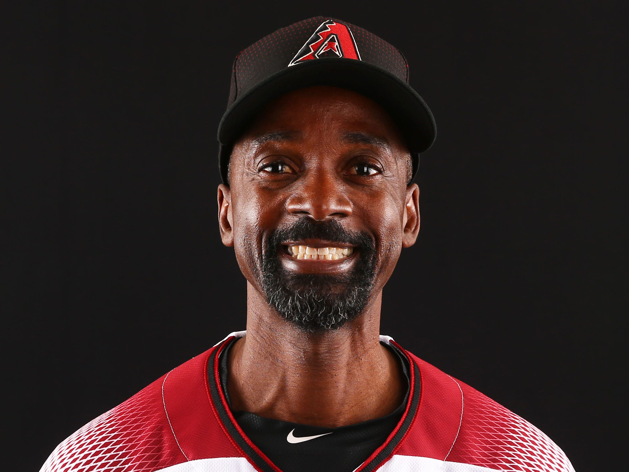 Darnell Coles of the Arizona Diamondbacks poses for a photo during the annual Spring Training Photo Day on Feb. 20 at Salt River Fields in Scottsdale, Ariz.