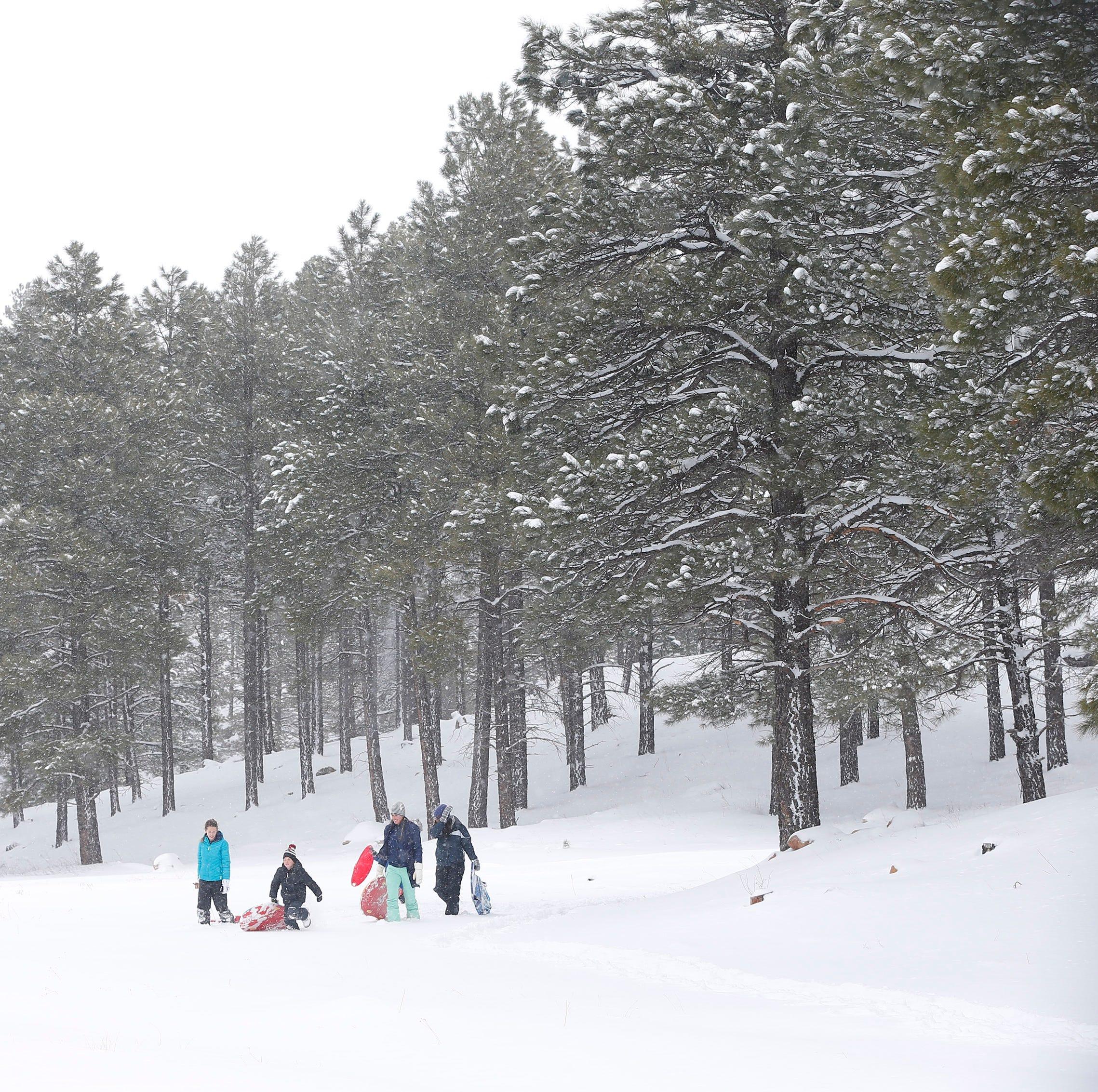 Arizona storm updates: 16 inches at Snowbowl recorded so far