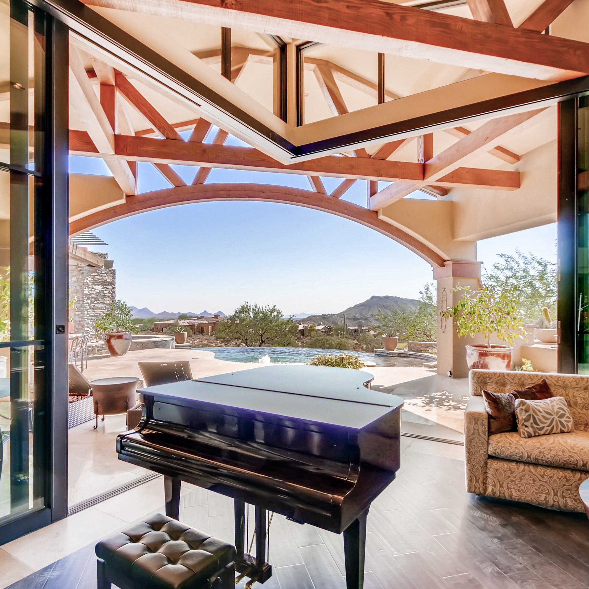 Scottsdale house with an outdoor kitchen and unobstructed mountain views sells for $3.45M
