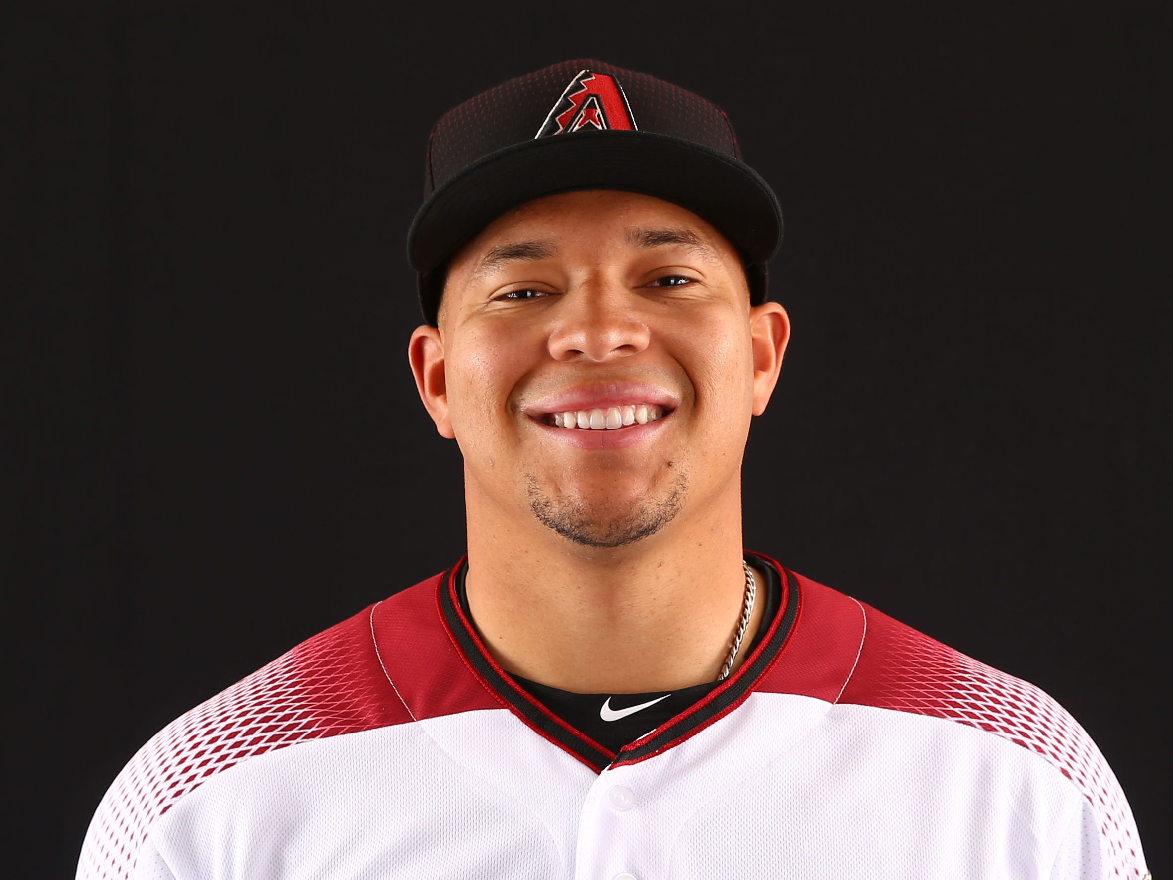 Taijuan Walker of the Arizona Diamondbacks poses for a photo during the annual Spring Training Photo Day on Feb. 20 at Salt River Fields in Scottsdale, Ariz.