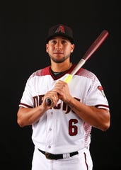 David Peralta, jugador de los Diamondbacks.