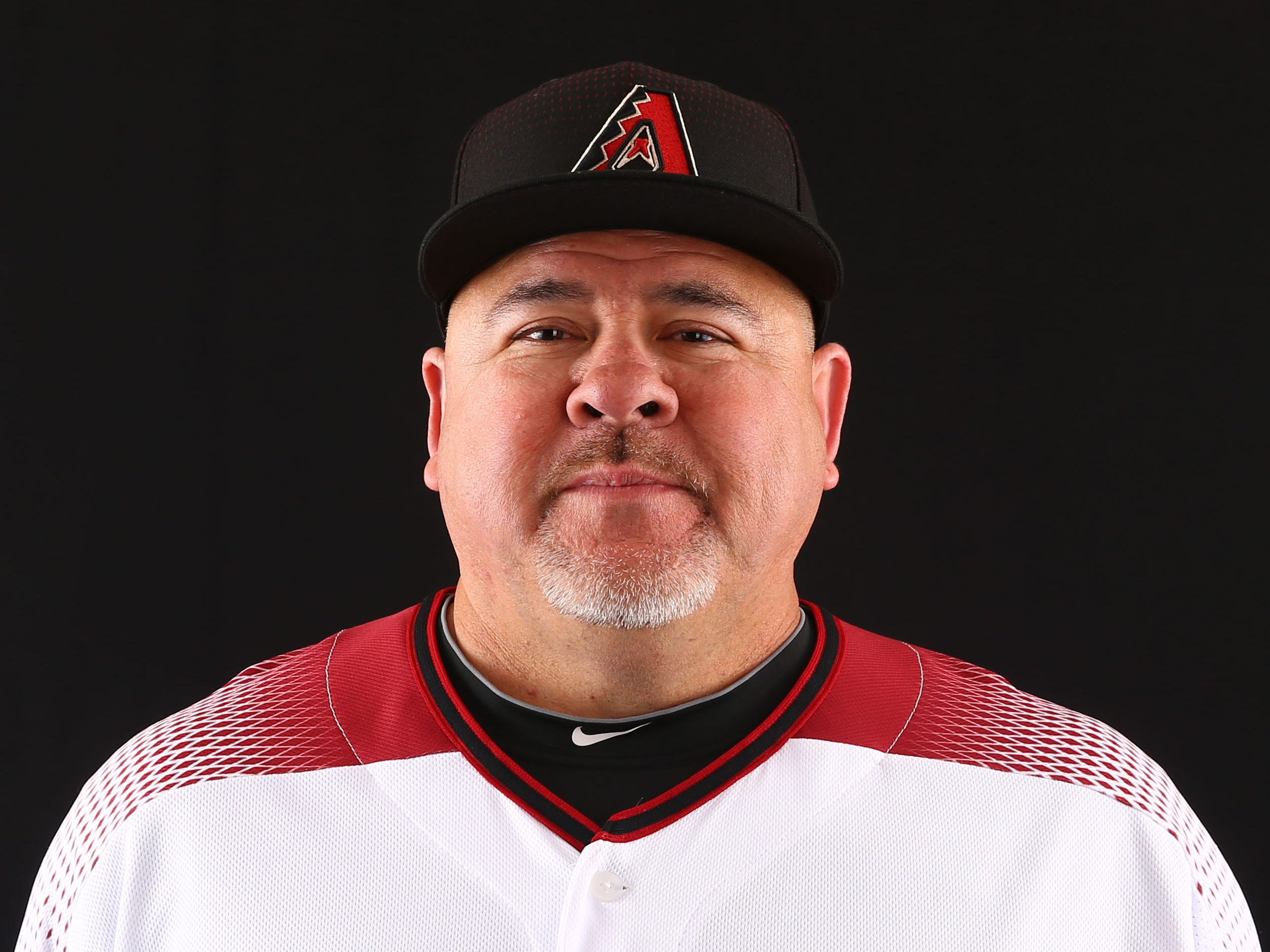 Mike Fetters of the Arizona Diamondbacks poses for a photo during the annual Spring Training Photo Day on Feb. 20 at Salt River Fields in Scottsdale, Ariz.