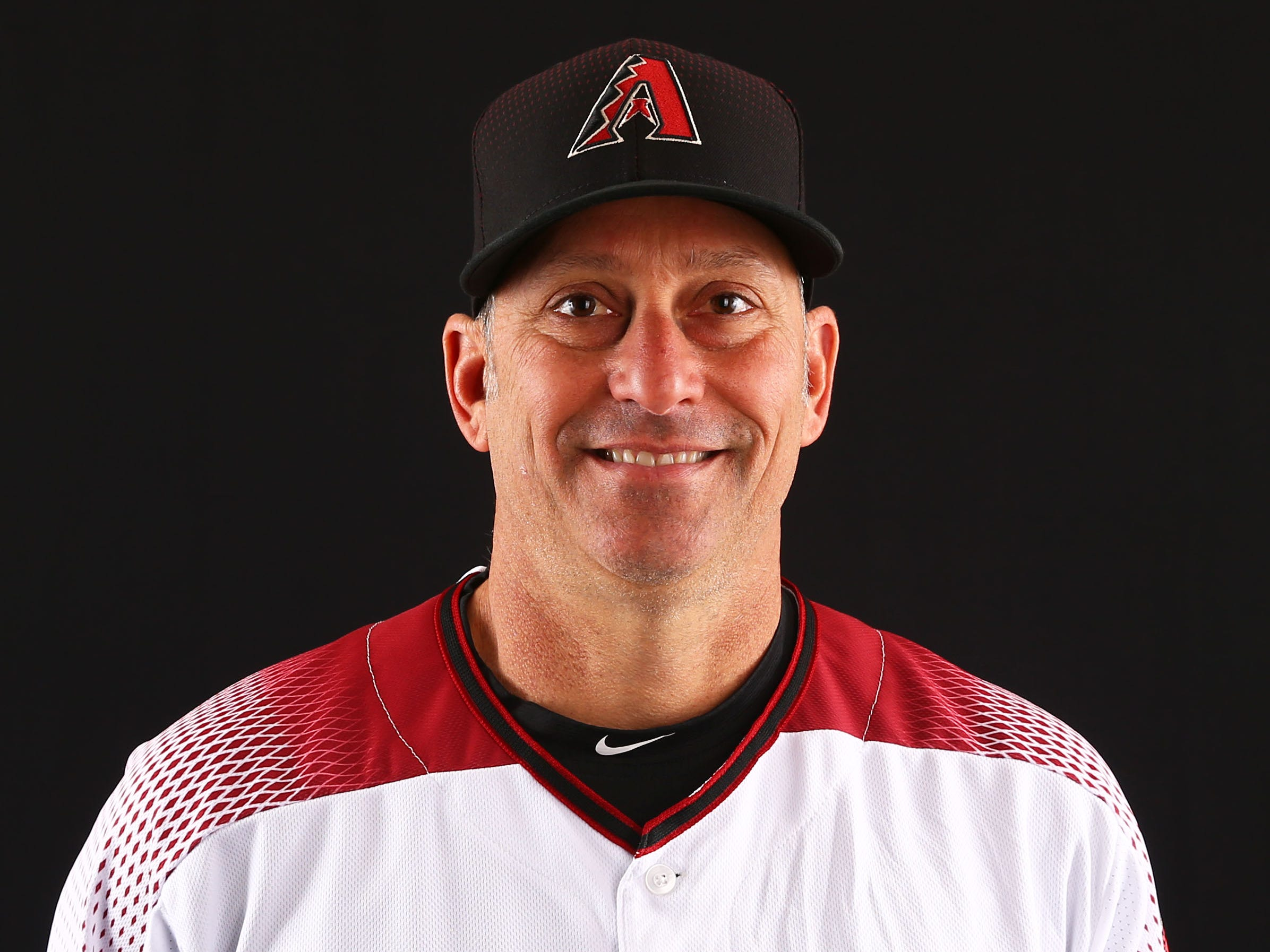 Torey Lovullo of the Arizona Diamondbacks poses for a photo during the annual Spring Training Photo Day on Feb. 20 at Salt River Fields in Scottsdale, Ariz.