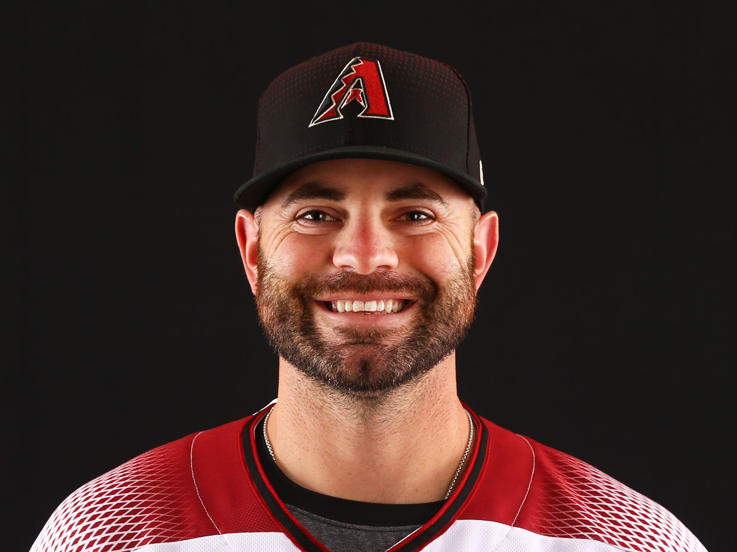 Marc Rzepczynski of the Arizona Diamondbacks poses for a photo during the annual Spring Training Photo Day on Feb. 20 at Salt River Fields in Scottsdale, Ariz.