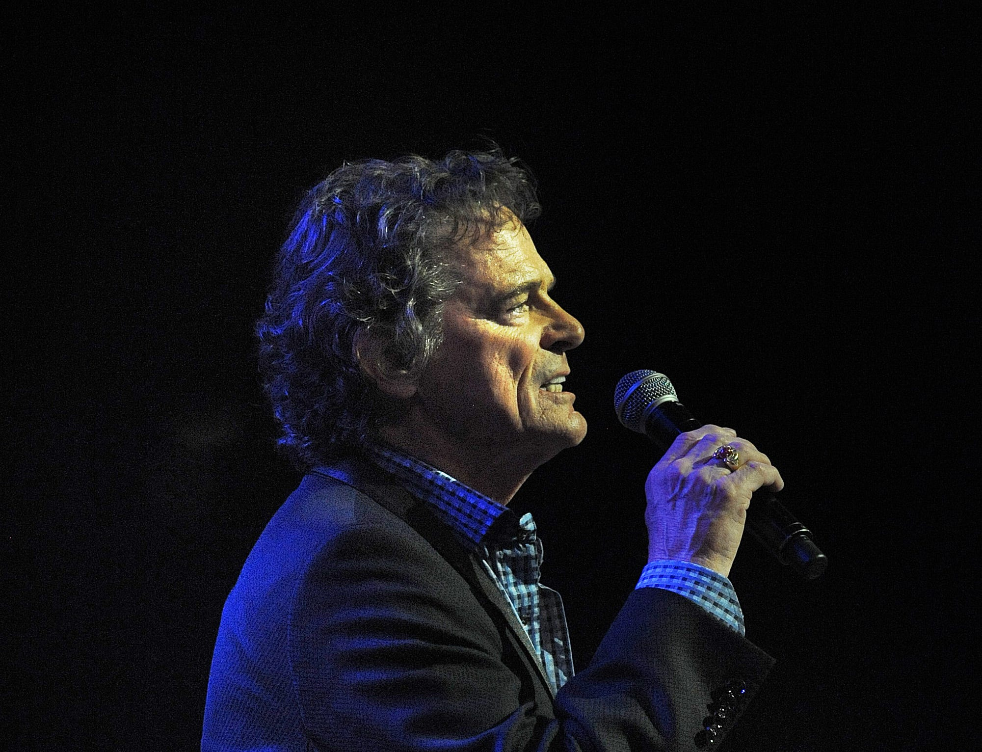 B.J. Thomas perform at theGgrand Ole Opry on Friday April 11, 2014, in Nashville.