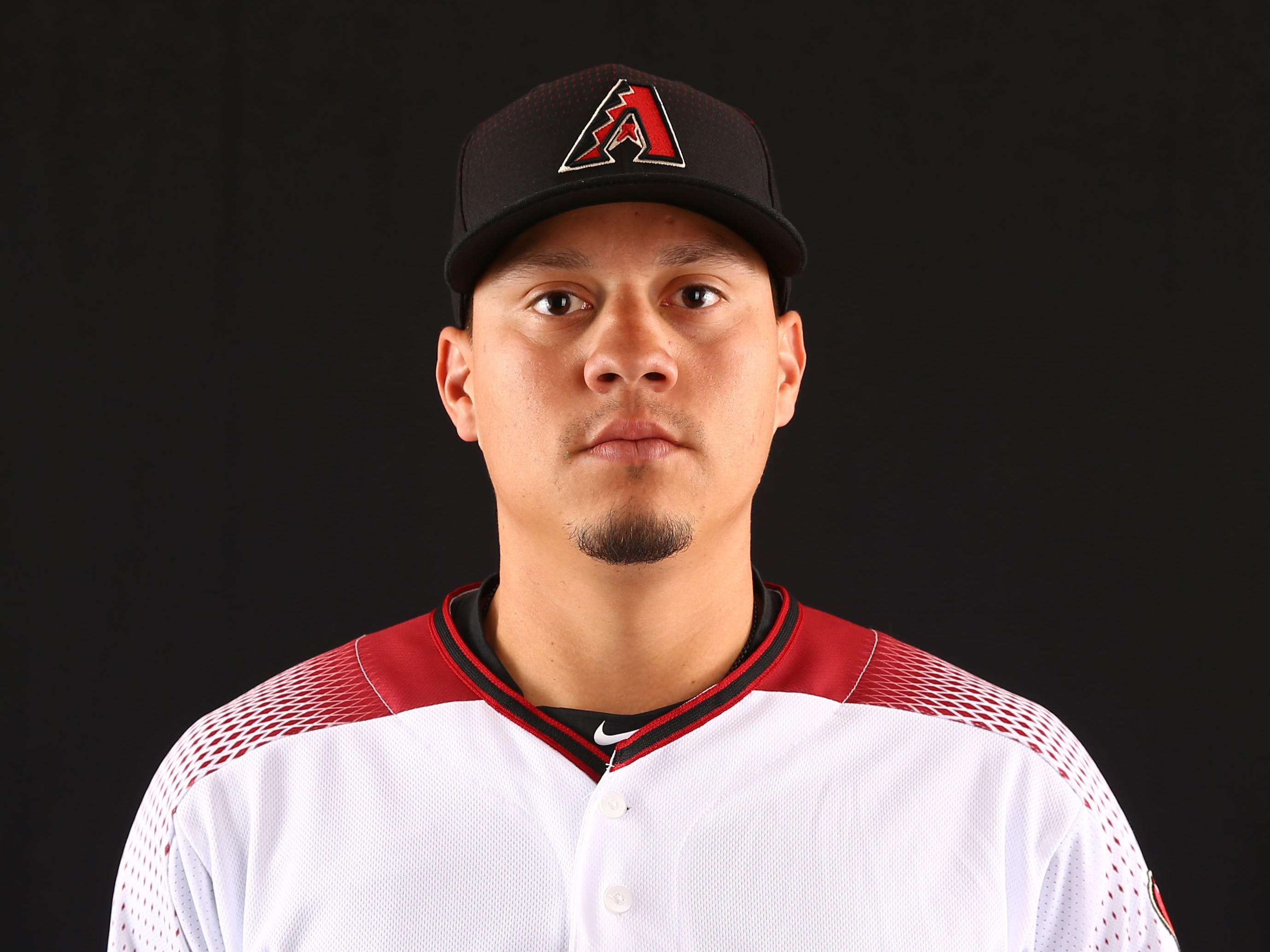 Wilmer Flores of the Arizona Diamondbacks poses for a photo during the annual Spring Training Photo Day on Feb. 20 at Salt River Fields in Scottsdale, Ariz.