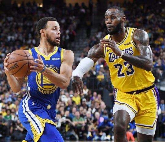 Stephen Curry, LeBron James.