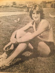 Yvonne Heinrich is shown here during high school career at York Suburban.
