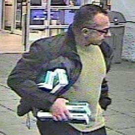 Springettsbury Township Police are hoping to identify this man, seen taking cartons of Newport cigarettes from the Walmart.