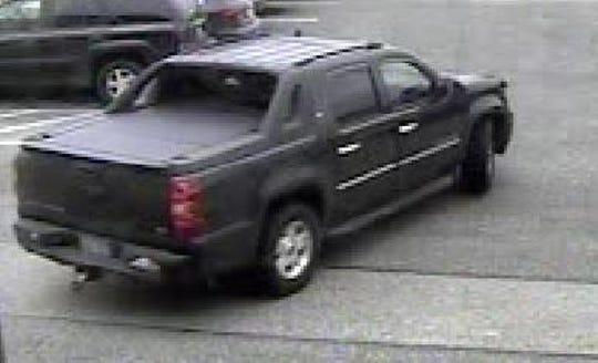 The getaway SUV used by a man wanted by Springettsbury Township Police for taking cartons of Newport cigarettes from the Walmart.