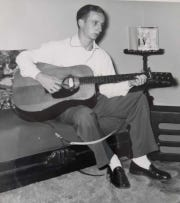 Bob Campbell loved playing the guitar, going way back, and was a big fan of bluegrass and country music.