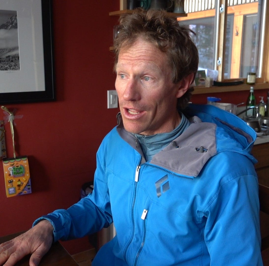 Broken leg and impending darkness: How two skiers survived an avalanche on Jobs Peak