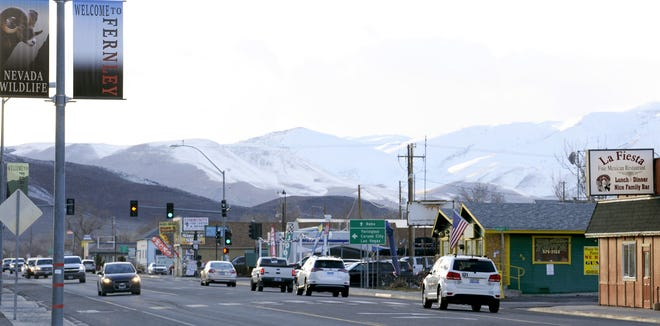 Fernley's downtown is one of the areas that would be impacted by a redevelopment district.
