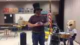 WCSD's Rollan Melton Principal Jeff Batavia sings about snow days and digital days. He is a first year principal at the school in Northwest Reno.