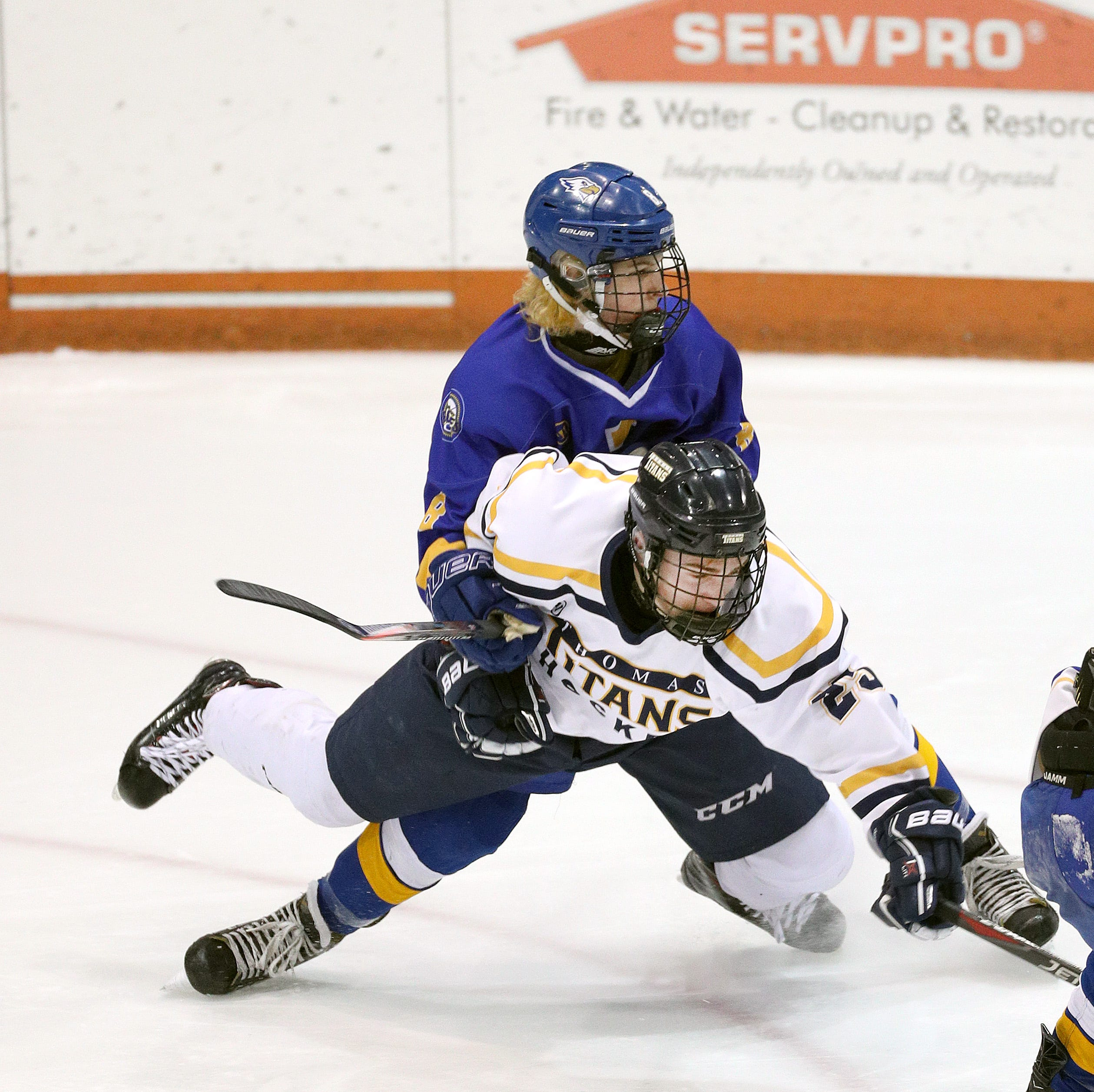 Webster Thomas crushes Irondequoit 10-2 in Class B hockey semifinal