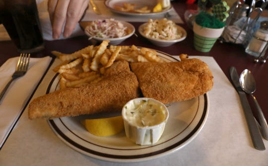 Fish fry at Stone's Countryside Tavern on Buffalo Road in Churchville.