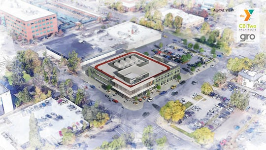 The new YMCA that will be built in downtown Salem has been downsized to two stories and 51,000 square feet in the latest renderings and plans provided by CB|Two Architects.
