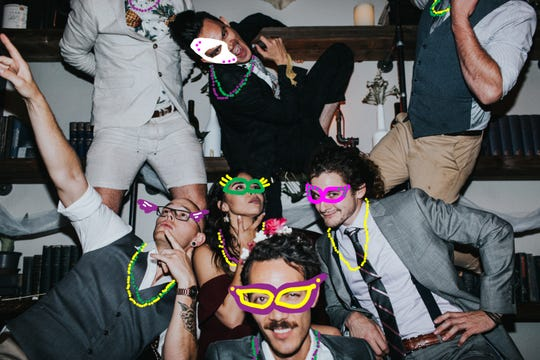 There will be a Mardi Gras Masquerade Party at Archive Coffee & Bar on Saturday.