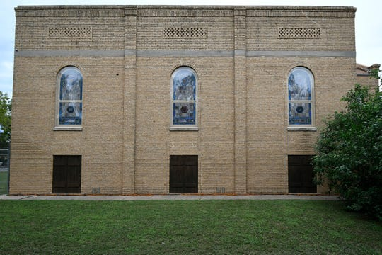 Congregation Beth-Israel, 1825 W. Beauregard Ave., was dedicated in 1929, and the building features stained-glass windows of gemstone style with Judiac symbols commemorating the Ten Commandments, ceremonial Shofar ram's horn, Torah scrolls and Menorahs.
