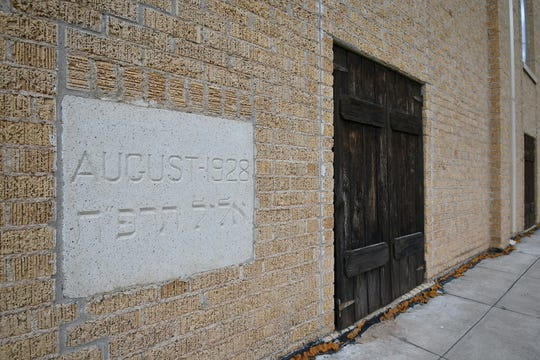 The cornerstone of Congregation Beth-Israel Synagogue in San Angelo is dated August of 1928, which was the month of Elul in the Year 5688 of the Hebrew calendar.