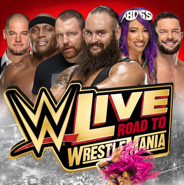 WWE Live Road to WrestleMania comes to Salisbury on March 1