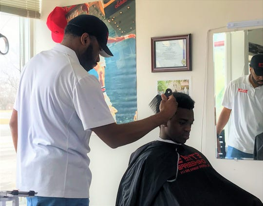 Daniel Greer owns Elite Barbershop in Sheboygan. When he opened his barbershop he set out to create a space where everyone, particularly diverse communities, can feel at home.