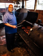 Harvey Clay, owner and pitmaster at Real BBQ