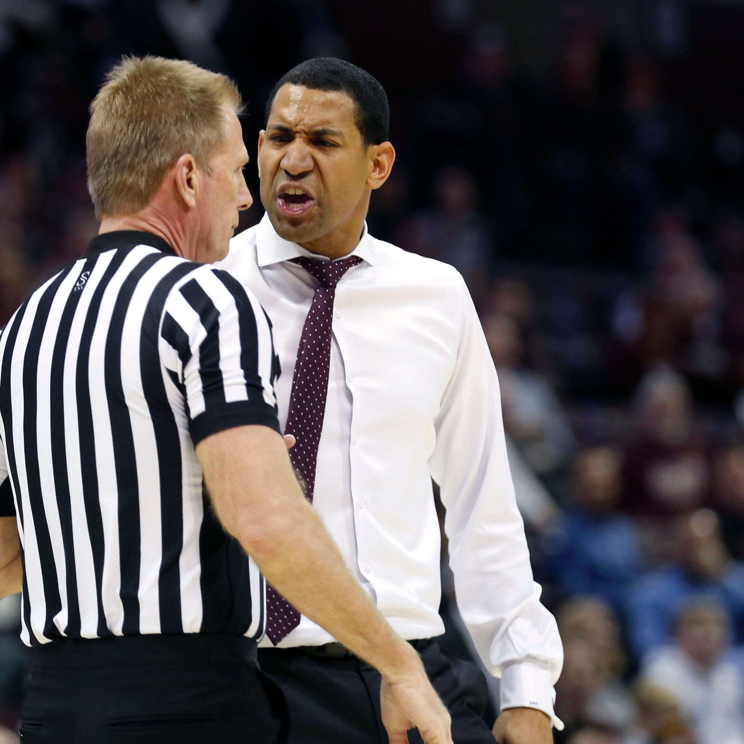 Missouri State head coach Dana Ford becomes latest Valley coach to have run-in with officials
