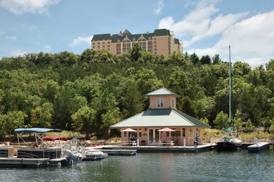 Chateau on the Lake Resort Spa & Convention Center overlooks Table Rock Lake.