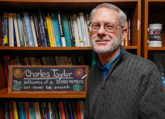 Charles Taylor is running for another term on the Springfield school board.
