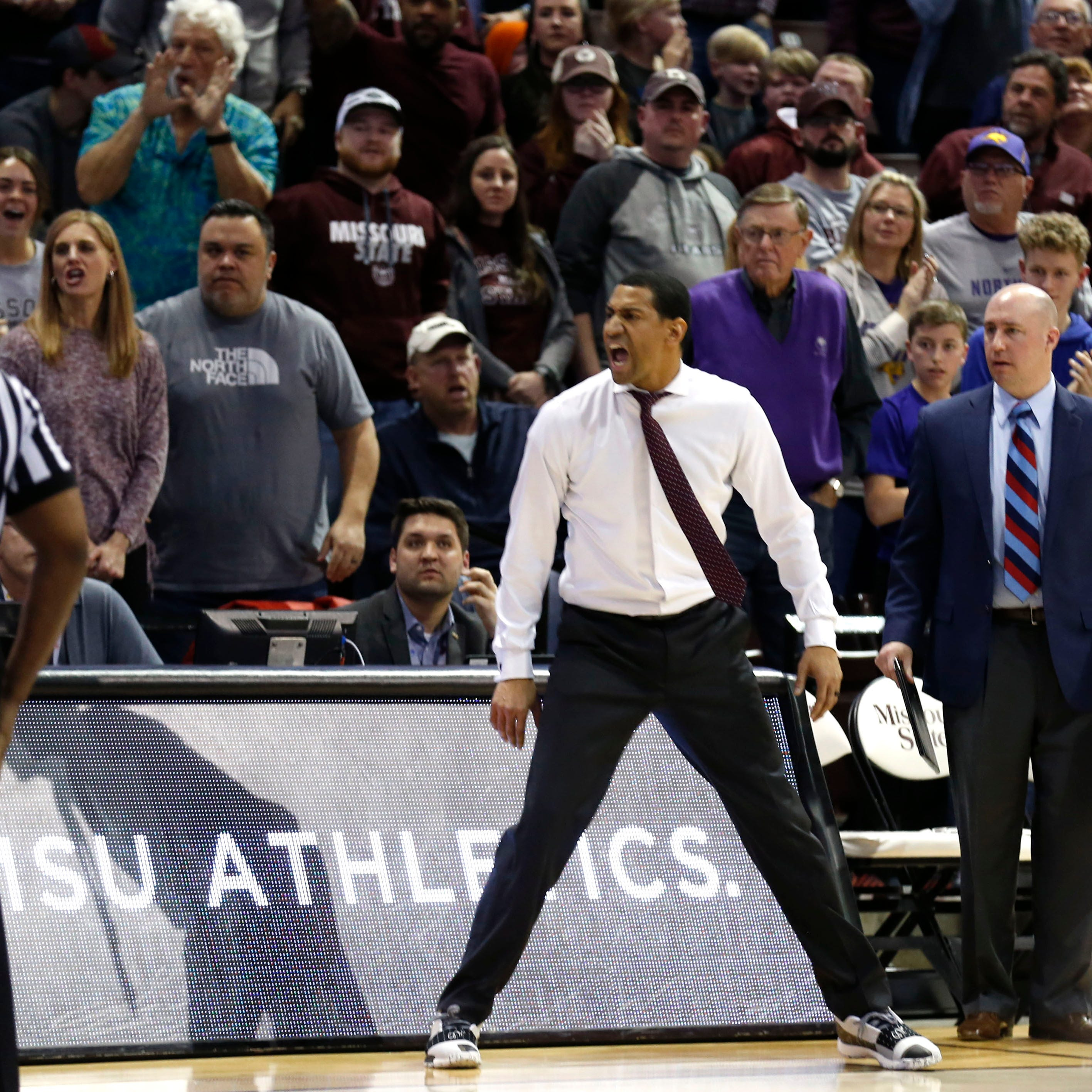 Missouri State head coach Dana Ford will not be suspended after being ejected during Wednesday's loss