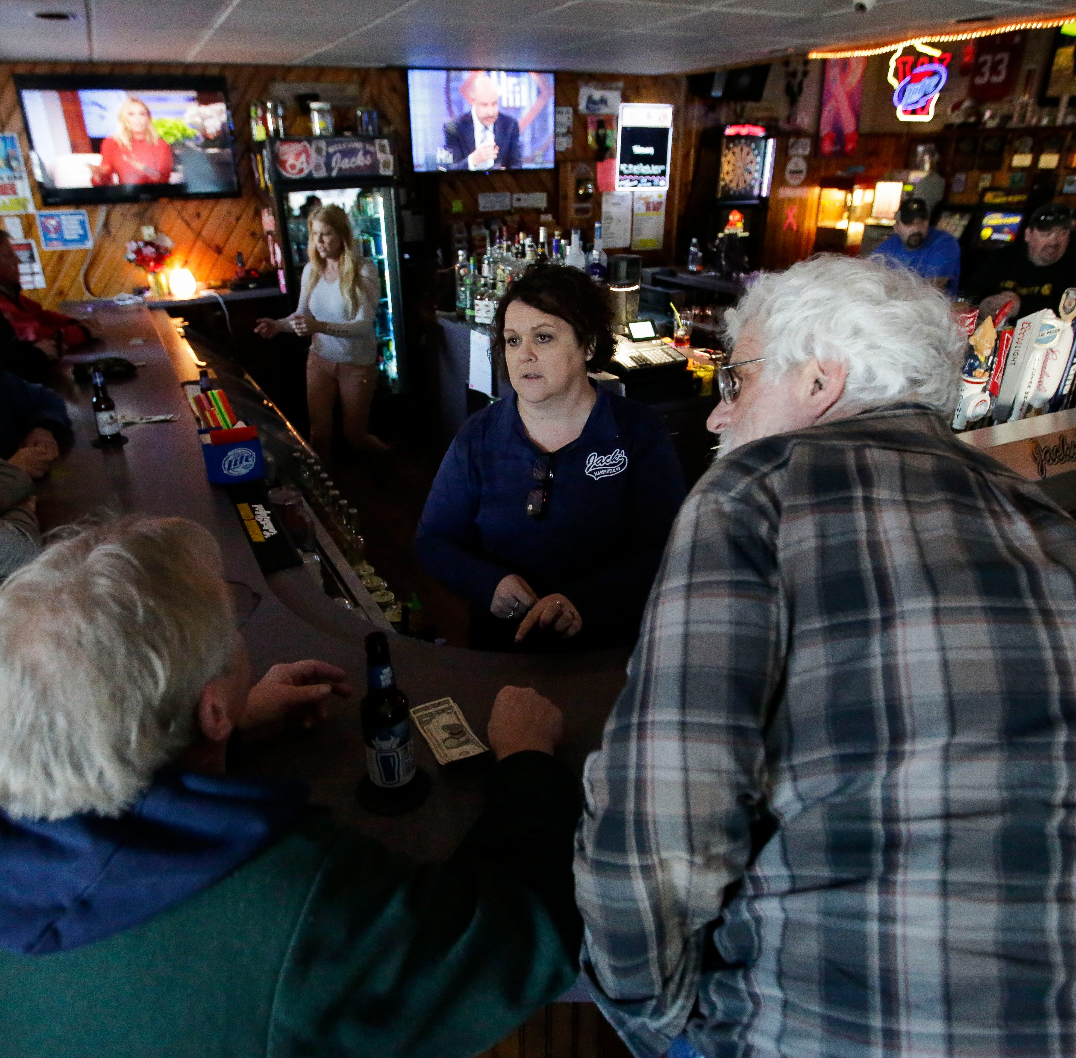 """We make you feel like family"": Jacks bar in Marshfield bursts with personality"